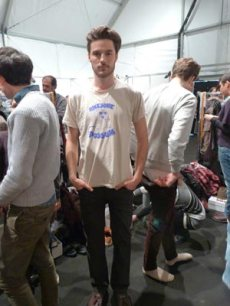 Backstage With Milan's Male Models