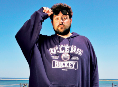 Kevin Smith Hasn't Taken His Shirt Off in 30 Years