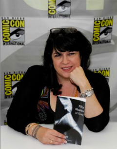Why Is E.L. James at Comic-Con?