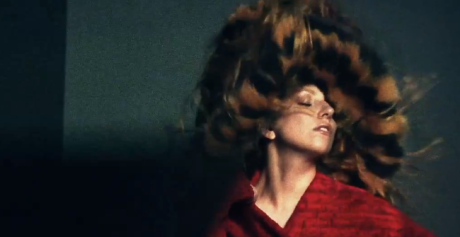 Gaga and That Thing on Her Head Vogue for 'Vogue'