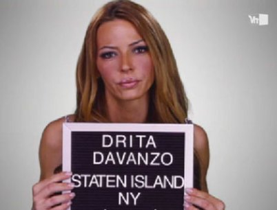 """Behold The Trashy Friendship Between 'Mob Wives""""s Drita D'Avanzo And Chris Brown"""