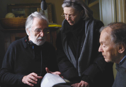 Discussing 'Amour' with Director Michael Haneke