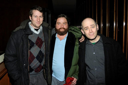 What's Zach Galifianakis Doing at the Boom Boom Room?