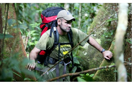 First Man to Walk 4,000-mile Long Amazon River