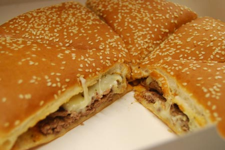 Burger King's Whopper Bar Unleashes the New York Pizza Burger