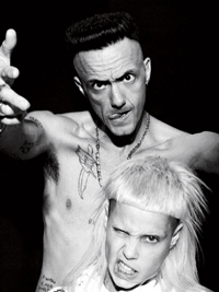 Video Exclusive: Die Antwoord Invades Milk Studios for Our September Issue
