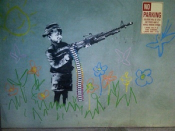 Banksy Makes Mischief in Wake of Oscar Ban