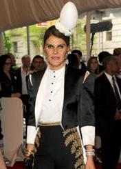 Anna Dello Russo Wears an Egg & Other Met Gala Surprises