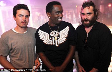 Casey Affleck, Diddy to Resurrect Joaquin Phoenix from Ashes