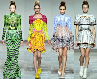 Mary Katrantzou Steals the Show at London Fashion Week