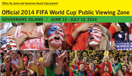 Watch the World Cup on Governor's Island This Weekend