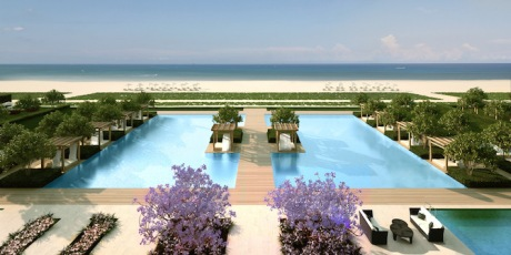 These Fendi Beachfront Dream Homes Could Be Yours
