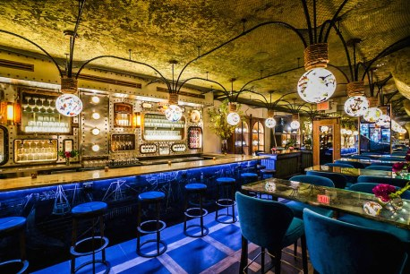 Aquatic Opulence: NYC's Lavish New Lamia's Fish Market Redefines Nautical Style