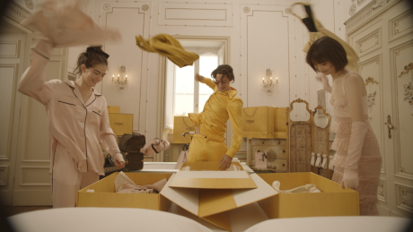 Everyone is Having a Ridiculously Good Time in This New Fendi Roma Holiday Capsule Collection Video
