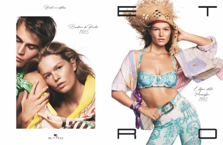 The Etro S/S 2021 Campaign is the Retro-Cool Hit of Joy We Need Right Now