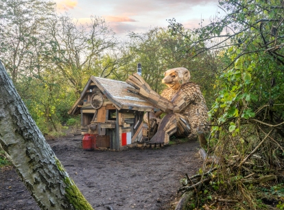 Images: Thomas Dambo's Fantastical Eco Troll Sculptures are Now Dotting Denmark's Countryside